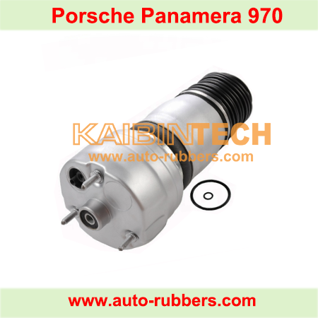 Porsche-Panamera-old-model-Front-Right-left-air-ride-Suspension-Air-Spring-with-solenoid-valve