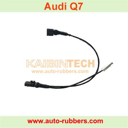 Air-Compressor-Compressor-Sensor-Cable-For-Audi-Q7-Air-Spring-Compressor-Pump-fix-kits-induction-line-4L0698007