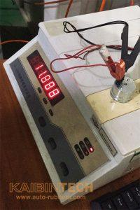 Airmatic suspension solenoid valve electromagnetism coil resistance measuring