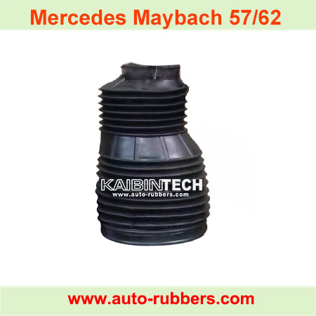 Mercedes-Maybach-57-62-2002-2013-Left-Right-Front-Air-Suspension-dust-cover-boot-Shock-absorber-repair-parts-A2403201913,-A2403200913