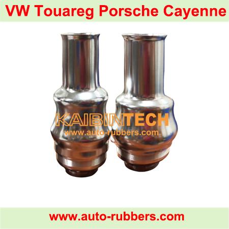 Porsche-Cayenne-front-shock-absorber-inside-aluminum-piston-VW-Touareg-air-suspension-repair-part