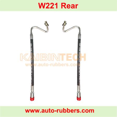 Rear-Hydraulic-Shock-Absorber-Oil-Pipe-Hydraulic-ABC-Suspension-Struts-Fit-Mercedes-W221-S600-C216-CL600