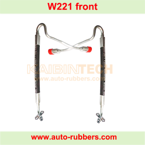 suspension strut repair kit - an oil pipe for Mercedes Benz W221 ABC(active body control) shock absorber strut
