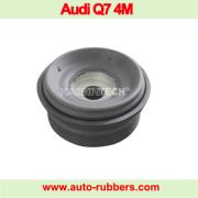Air spring suspension top shock absorber strut repair kits rubber mount bushing for Audi Q7 4m